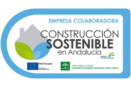 sello empresa colaboradora construcción sostenible junta andalucía